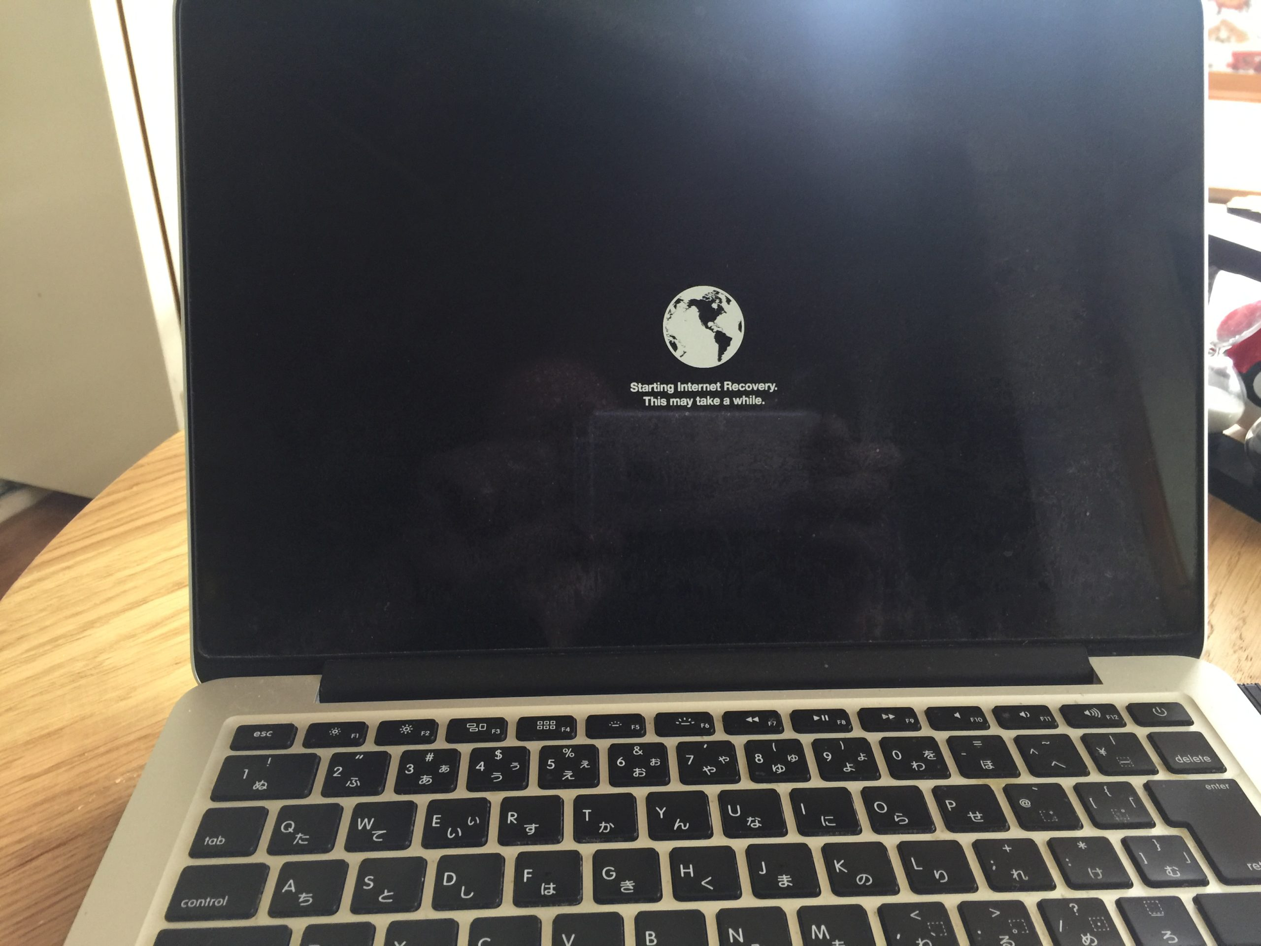 本格整体院高久 大泉学園店 MacBook Proトラブルシューティング