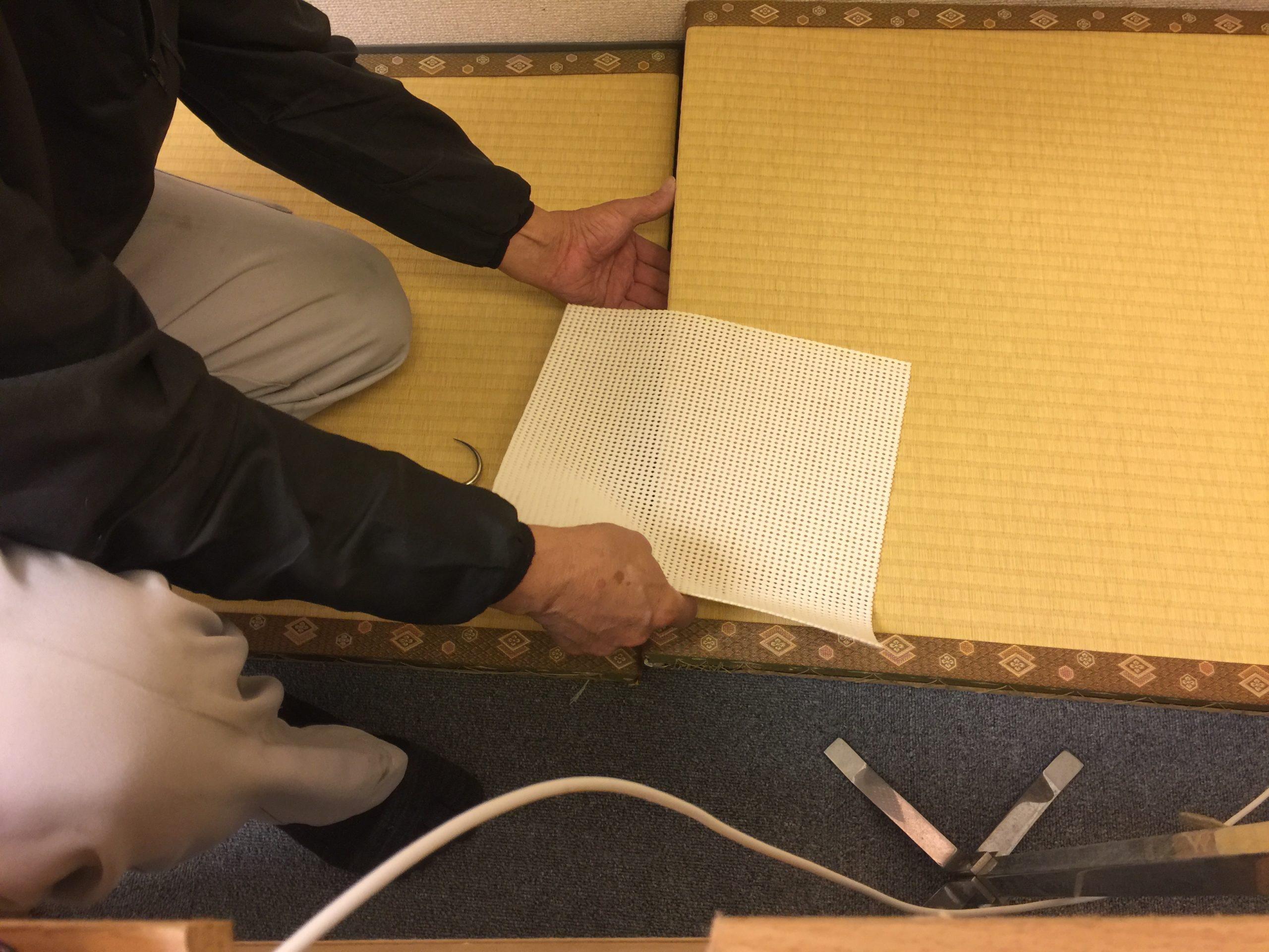 畳を新型コロナ用にかえました 本格整体院高久 大泉学園店